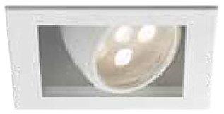 WAC Lighting MTLED118WT LEDme LED 1 Spot Light, White Finish Ledme 1 Light