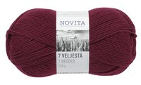 Novita 7 Brothers Dark red (2 Pieces)