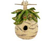 DZI Handmade Designs DZI484005 Birch Felt Birdhouse
