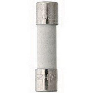 Bussmann BK/S501-125-R Fast-Acting Fuse 0.125 Amp 250 Volt AC Holder/Clip Mount (Ferrule Holder)
