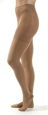 JOBST Relief Compression Pantyhose 30-40 mmHg, Waist High, Closed Toe, Small, Beige