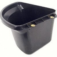 Fortiflex Corner Feeder for Dogs and Horses, 6-Gallon, Black by Fortiflex