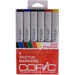 Copic Markers Set Best Deals - Copic Markers 6-Piece Sketch Set, Bold Primaries