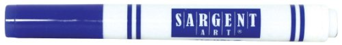 Sargent Art 12 Count Broad Tip Marker, Blue