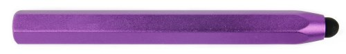 DURAGADGET Sleek Purple Aluminium Touchscreen Smartphone Stylus Pen For New Apple iPhone 5 & Apple / iPad Air Wi-Fi / Wi-Fi + Cellular Space Grey Silver 16Gb 32Gb 64Gb 128GB / New Apple iPad Air 2 (New 2014 Release)