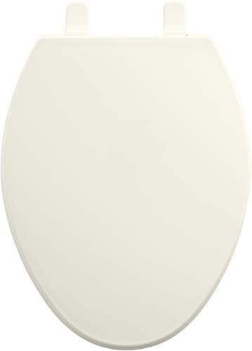 KOHLER K-4774-96 Brevia Elongated Toilet Seat with Quick-Release Hinges and Quick-Attach Hardware for Easy Clean in Biscuit by Kohler (Image #1)