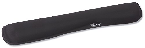 (Belkin WaveRest Gel Wrist Pad for Keyboards, Black (F8E263-BLK))
