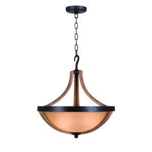 Casual Bowl Pendants Lighting (Talo 3 Light Driftwood Bowl Pe 21hx19.5wx19.5d Driftwood)