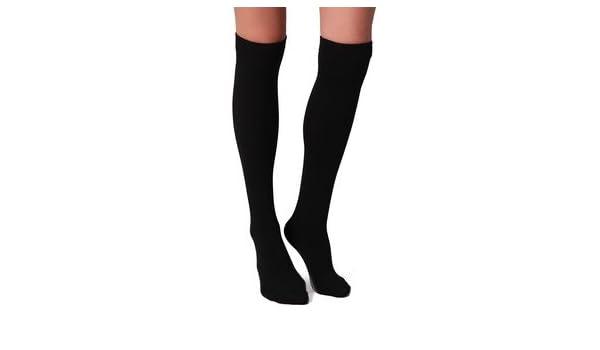 Calcetines por encima de la rodilla, para uniforme de colegio, talla 32 a 34: Amazon.es: Coche y moto
