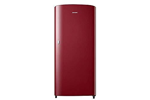Renewed  Samsung 192 L 1 Star Direct Cool Single Door Refrigerator  RR19T21CARH/NL, Scarlet Red