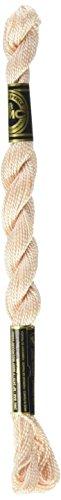 - DMC 115 5-948 Pearl Cotton Thread, Very Light Peach, Size 5