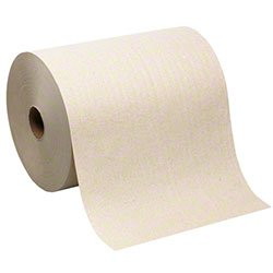 (Georgia Pacific 26480 Hardwound Roll Paper Towel, Nonperforated, 7.87 x 1000ft, Brown, 6 Rolls/CT)