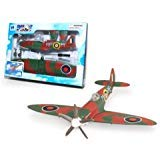(New 1:48 NEW RAY SKY PILOT COLLECTION - WORLD WAR II FIGHTER PLANES - SPITE FIRE Model By NEW RAY TOYS )