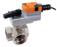 Belimo | B350L+ARB24-3 | Ball Valve | 2'' | 3 Way | 87 Cv | w/ Non-Spg | 24V | Floating by Belimo