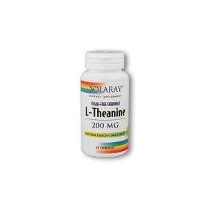 Solaray L-Théanine 200mg Lemon Lime - 30 à Croquer