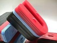 1-1/2 X 3 X 1/16 Interlocking Plastic Horseshoe Shims- 1000/box by Glazelock Inc.