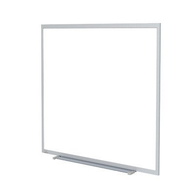 Aluminum Frame Porcelain - Aluminum Frame Porcelain Magnetic Whiteboard Size: 4'5