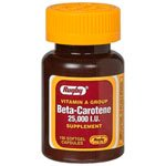Beta Carotene 25000 IU 100 Softgel Capsules Watson Rugby Discount