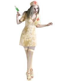 Fun World Women's Zombie Nurse, Multi, -