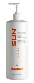 Sun Self Tanning Lotion Tan Overnight Instant Tint - Medium 32 oz. (32. oz) by Sun Laboratories by Sun Laboratories