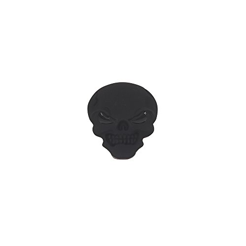 Fenix Skull Emblem Embossed for Bikes Bicycles, Lowrider, Cruiser, Chopper, Various Colors (Black)