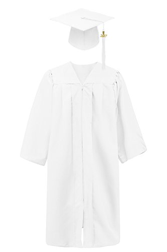 graduation cap white - 6