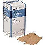 (CURITY ADHESIVE BANDAGES 2 X 3.75 FLEXIBLE, BOX OF 50 )