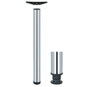 adjustable breakfast bar worktop support table leg 60mm. Black Bedroom Furniture Sets. Home Design Ideas