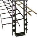 Cooper Tools / B-Line - SB8361908436FB - 7' H X 19' W Mounting 36' D 4 Post Alum Rack Flat Black by Cooper Tools / B-Line
