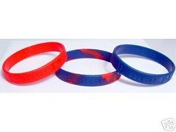 Forever Collectibles Red Sox 3 Pack Wristband Set