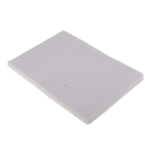 - CUTICATE 10 Sheet Glass Fusing Paper Ceramic Fiber Square for DIY Fusing Glass Supply