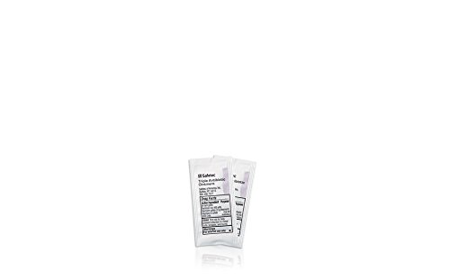 Safetec Triple Antibiotic Ointment, .5 g. pouch (bulk package - 2000 count) by Safetec