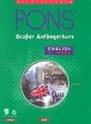 PONS Großer Anfängerkurs English at Work, 4 Audio-CDs m. Lehrbuch
