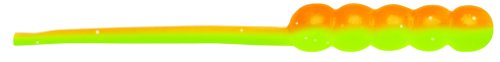 TriggerX TXWT1ORCH 1-Inch Wax Tail Lure (15-Pack), Orange Chartreuse