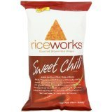 Riceworks Brown Rice Crisps Sweet Chili (Package of 6 Bags)