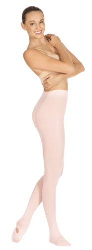 Eurotard 210 Adult Convertible Seamless Tights (Theatrical Pink, Large/X-Large)