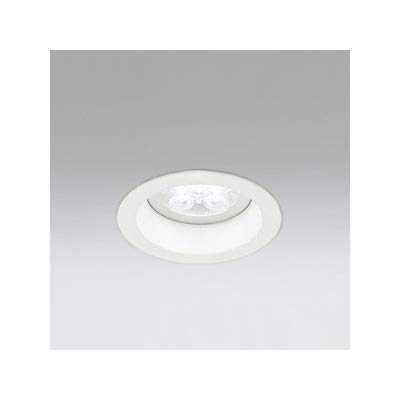 LEDダウンライト M形 φ100 JR12V-50W形 LED5灯 配光角20°連続調光 本体色:オフホワイト 電球色形 3000K B07S3Y6C1F