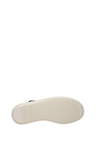 RICK OWENS Sneakers DRKSHDW Uomo - Tessuto (UF2802RYEVPBLACKBLACKMILK) 40.5 EU