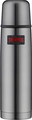 4019.218. 075 Vacuum Flask/Thermos Light & Compact 3 cm, 0, Stainless Steel Vacuum Flask, grau, 7, 6 X 28