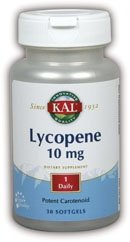 KAL 10 Mg Lycopene Tablets, 30 Count by KAL