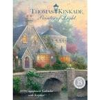 Thomas Kinkade Painter of Light with Scripture 2009 Hardcover Engagement Calendar