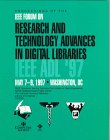 Research and Technology Advances in Digital Libraries : Proceedings, 1997, IEEE International Forum on Research and Technology Advances in Digital Libraries (ADL '97) (1997: Washington, DC), IEEE Computer Society Staff, 0818680105