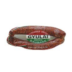 Gyulai Smoked Sausage-Mild, approx. 0.8lb by Bende