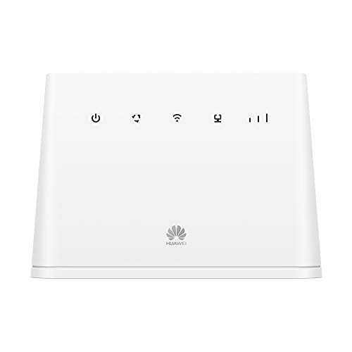 Huawei B311-221 Unlocked 4G LTE 150 Mbps Mobile Wi-Fi Router (3G/4G LTE in Venezuela, Brasil, Europe, Asia, Middle East, Africa) (White)