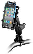 RAM-B-149Z-PD3U: RAM Motorcycle and bicycle Universal Handlebar Mount for SmartPhone / iPhone...