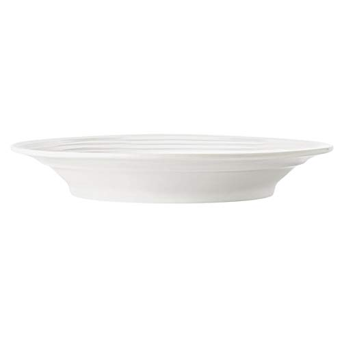 "Syracuse China 999001785 Galileo Constellation 11 7/8"" Lunar Bright White Wide Rim Porcelain Bowl - 12/Case"