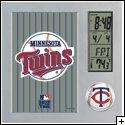Minnesota Twins Digital Desk Clock