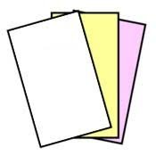 167 Sets NCR Paper, 3 Part, Legal Size Reverse Collated Carbonless Paper (501 Sheets - 3 Part) NCR Item # 5902