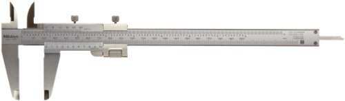 MITUTOYO Brand Vernier Caliper with fine adjustment 200mm / 8'' Model: 532-120.Genuine Mitutoyo product Made in Japan