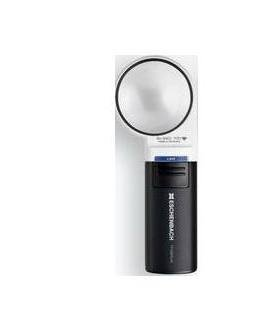 Eschenbach No. 1511-6 Mobilux Aspheric LED Illuminated Hand Held Magnifier, 6x Magnification, 24 D Diopter, 58mm Lens Diameter